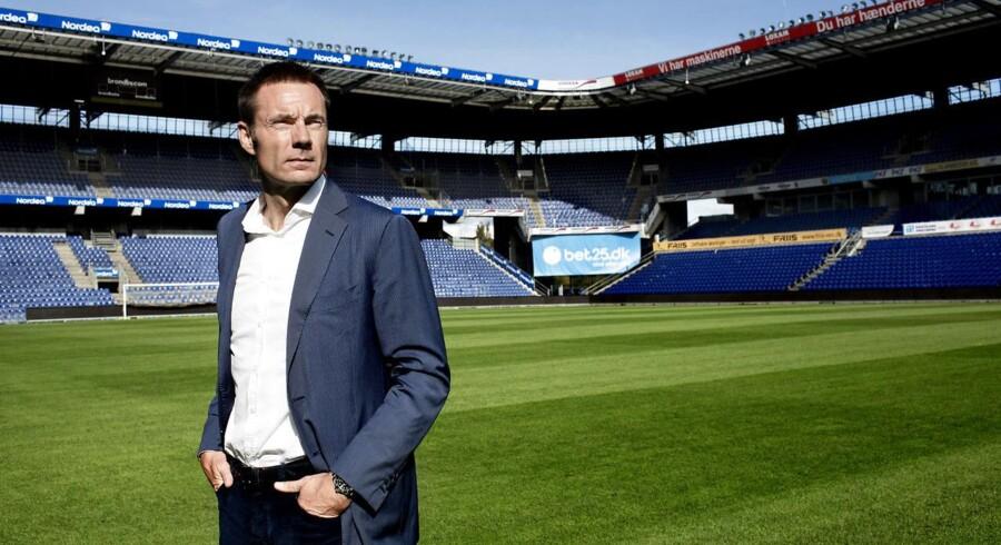 Bestyrelsesformand og hovedaktionær i fodboldklubben Brøndby IF, Jan Bech Andersen. Her fotograferet på Brøndby Stadion.