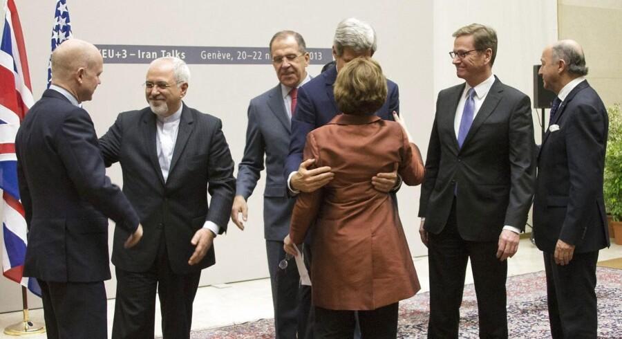 Der var stor glæde i weekenden, da atomaftalen med Iran blev indgået. Og glæden smitter hele vejen til DIs hovedkvarter.