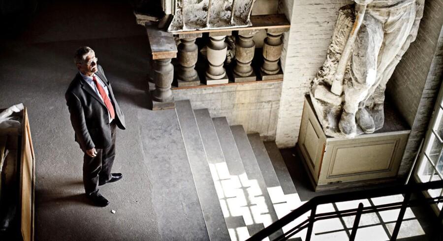 Mogens Lykketoft i Tårnet på Christiansborg.