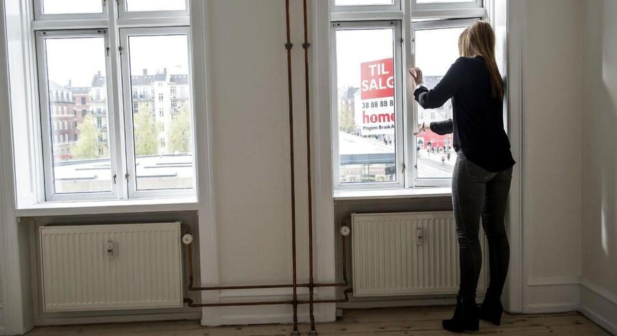 Andelsbolig til salg hos Home - fotograferet på Nørrebro tirsdag den 05. maj 2015.