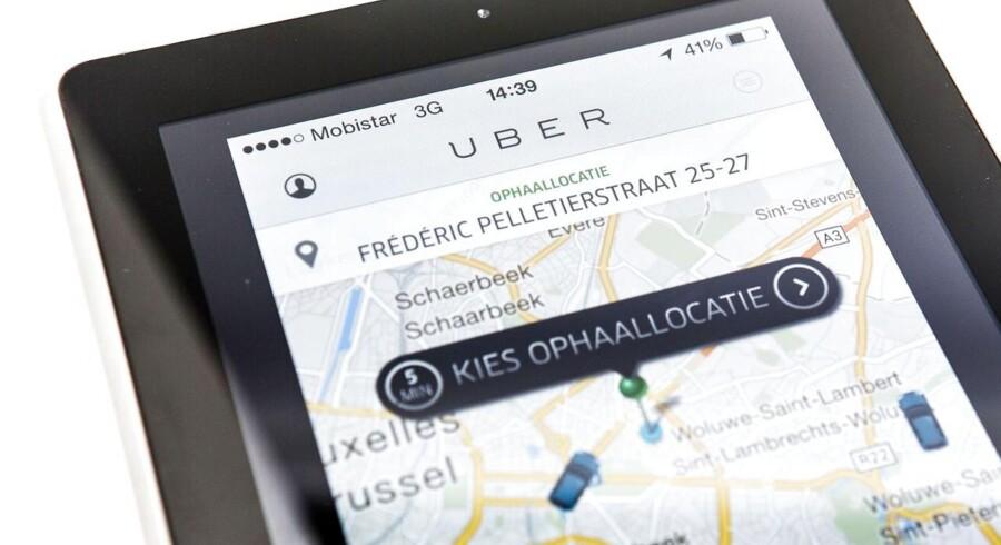 Uber er blevet forbudt i Bruxelles.