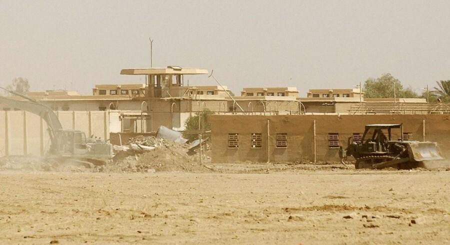 Abu Ghraib-fængslet i Iraks hovedstad, Bagdad.