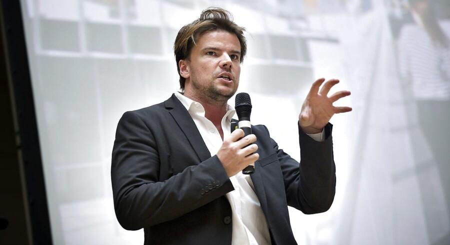 Bjarke Ingels er den anden dansker, der optræder på kendt liste over verdens mest indflydelsesrige personer.(Foto: Keld Navntoft/Scanpix 2011)