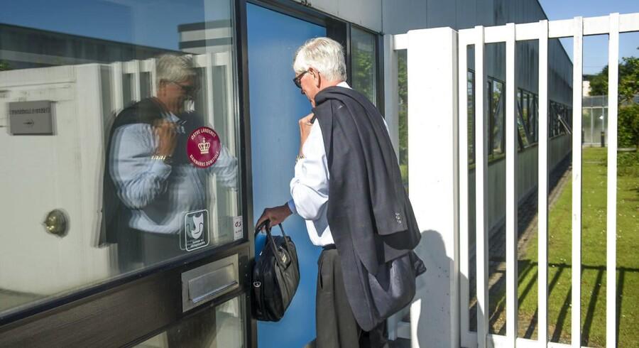 Arkivfoto: 7. november får den tidligere direktør Niels Valentin Hansen og de øvrige sagsøgte at vide, om de skal erstatte tab på en milliard kroner, sådan som det statslige selskab Finansiel Stabilitet har krævet.