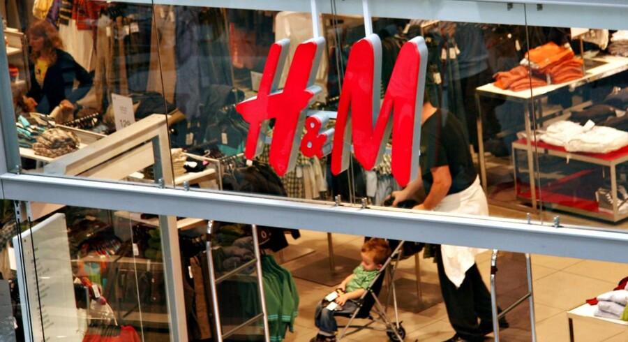 Mange danske H&M-kunder har indleveret poser med gammelt tøj til tøjvirksomheden i en god sags tjeneste.