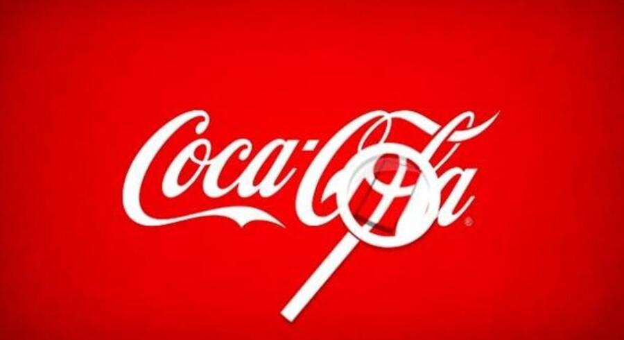 Coca Cola mener, at der ligheder mellem deres logo og Dannebrog.