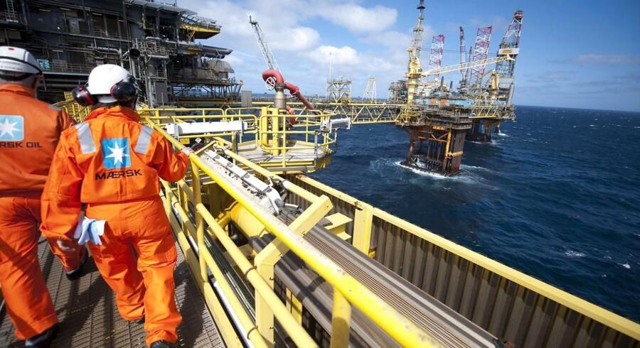 Olieprisen er lige nu 30 procent under det gennemsnit, som Nordsøfonden har forudsat for 2015.