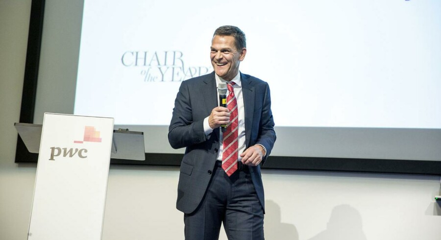 PWC kårer årets bestyrelsesformand. Vinderen Ole Andersen fra Chr. Hansen.