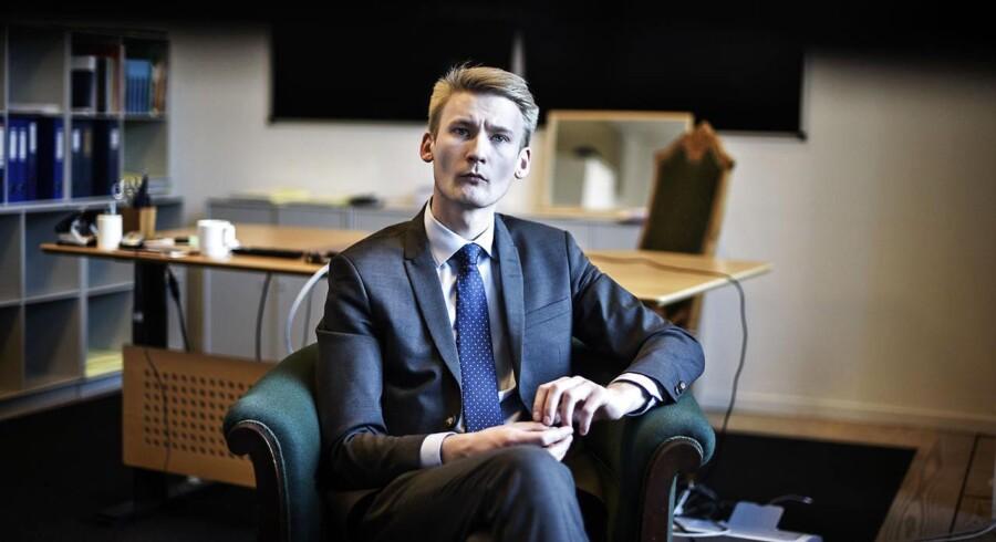 Rretsordfører for Dansk Folkeparti Peter Kofod Poulsen.