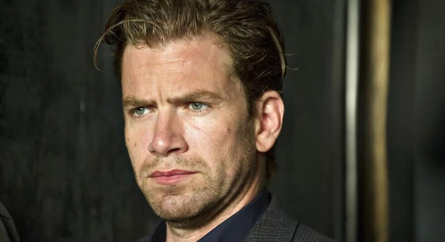 """Nikolaj Lie Kaas holder en pause efter et år proppet med tv-indspilningerne til """"Bedrag"""" samt to danske spillefilm"""