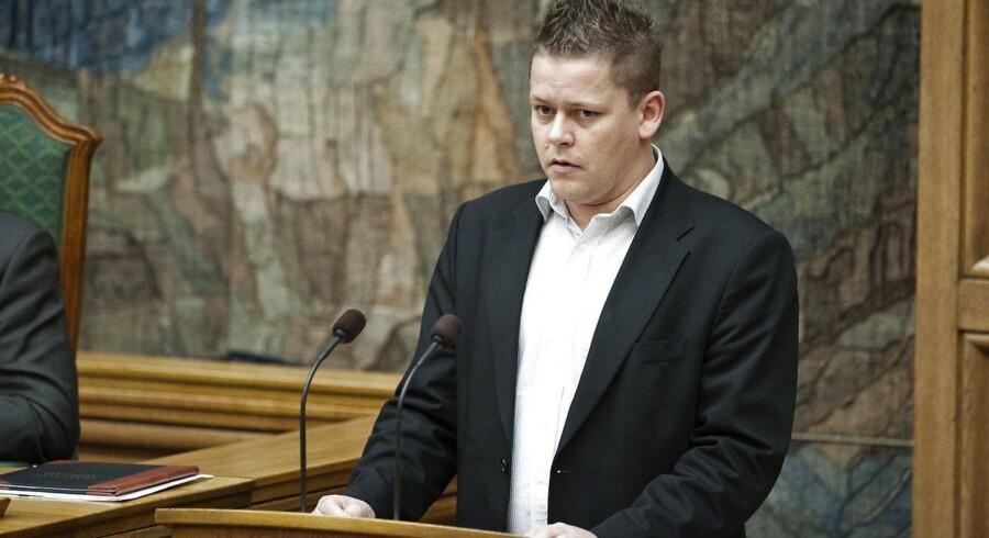 Dansk Folkepartis skatteordfører Dennis Flydtkjær.