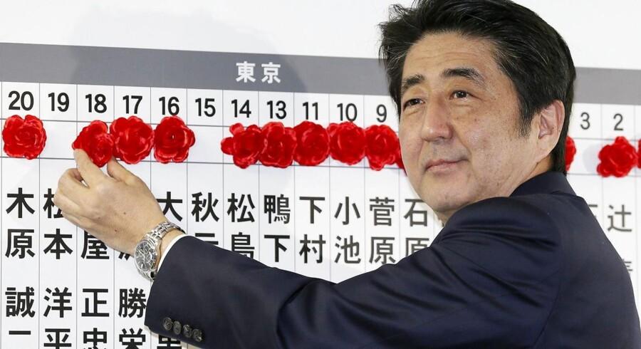 Japans premierminister, Shinzo Abe, har udskrevet valg i utide for at søge et nyt mandat hos befolkningen.