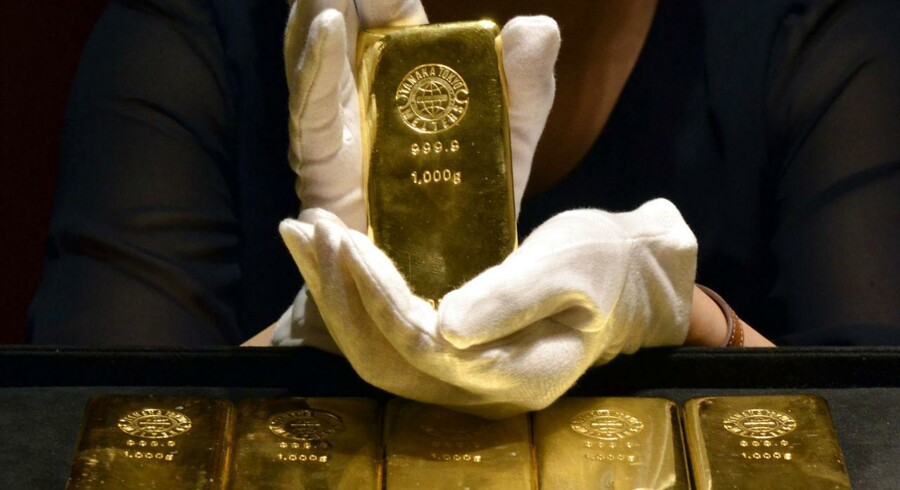 Hidtil i år er guldet steget 10 pct.