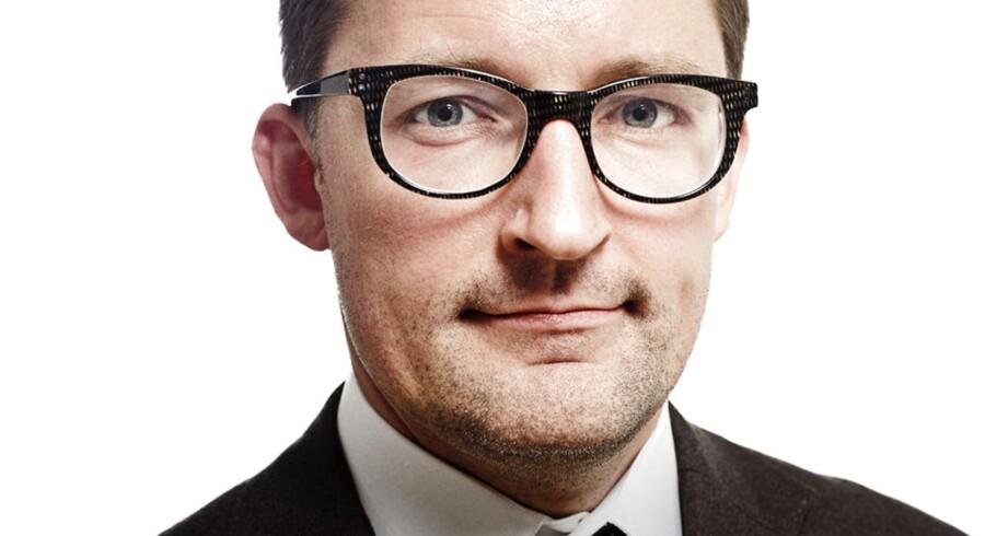Peter Nyholm Jensen, finansredaktør, byline billede.