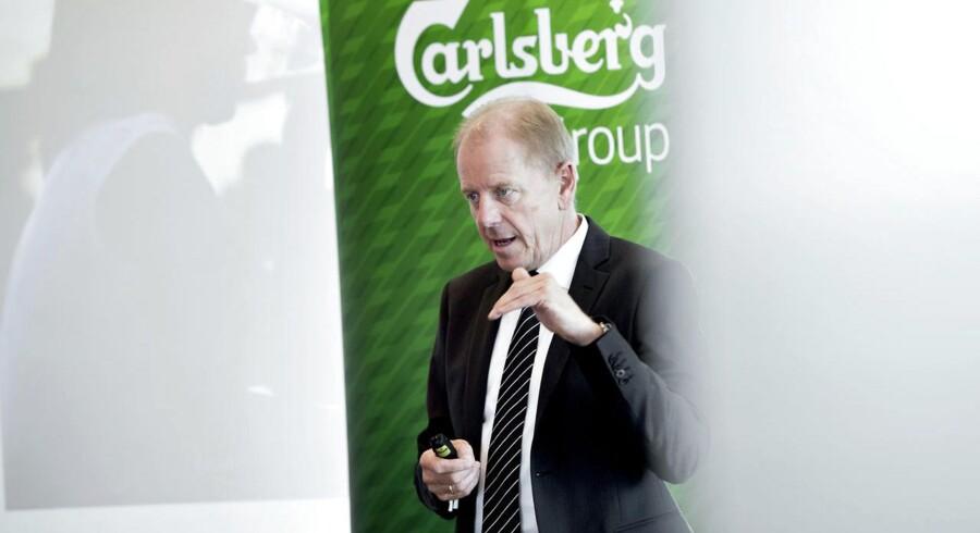 Carlsbergs afgående koncernchef Jørgen Buhl Rasmussen