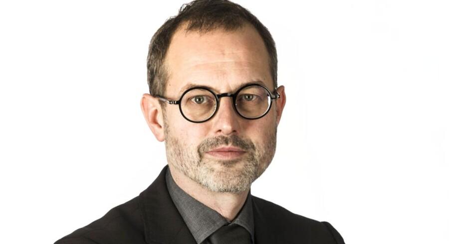 Redaktør for Business Magasin, Claus Skovhus.