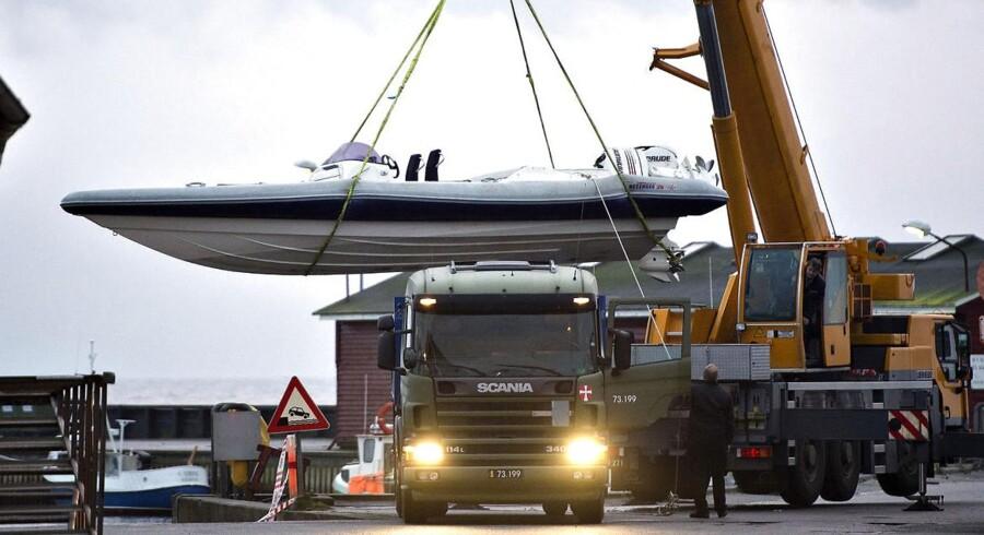 For halvanden måned siden blev tre norske hashsmuglere taget ved en aktion i havnen i Aalbæk i et forsøg på at sejle 250 kilo hash i speedbåd til den norske by Arnedal.