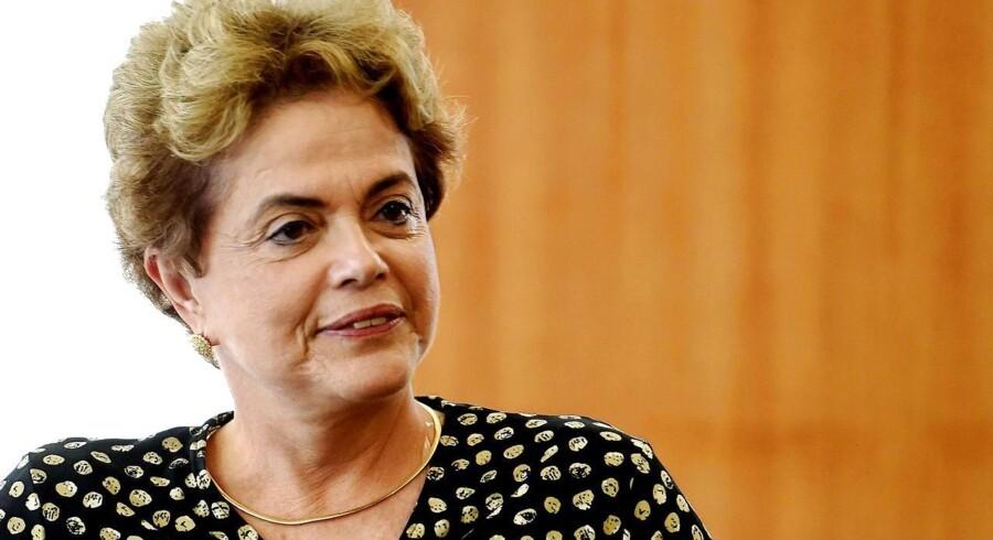 Den brasilianske præsident, Dilma Rousseff.