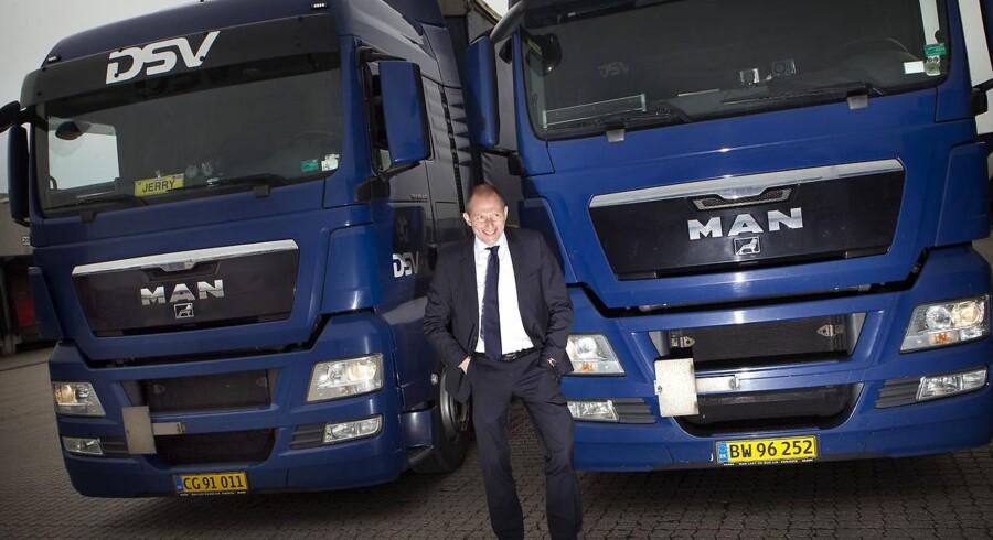 DSV oplyser, at selskabet vil komme med nærmere detaljer om handlen, når det 10. februar kommer med regnskab for 2015. Her ses topchef Jens Bjørn Andersen.