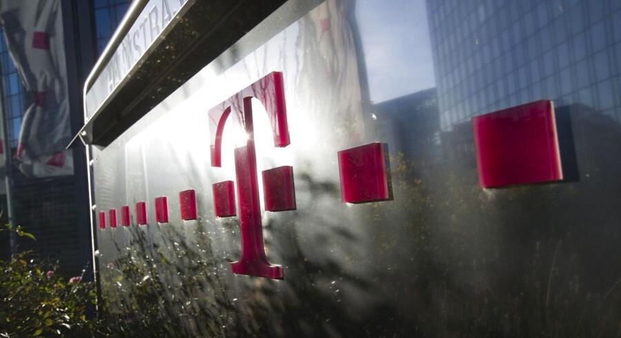 Deutsche Telekoms hovedkvarter, der ligger i Frankfurt am Main.