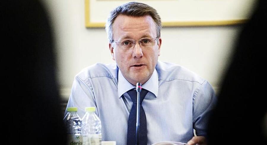 Justitsminister Morten Bødskov (S).