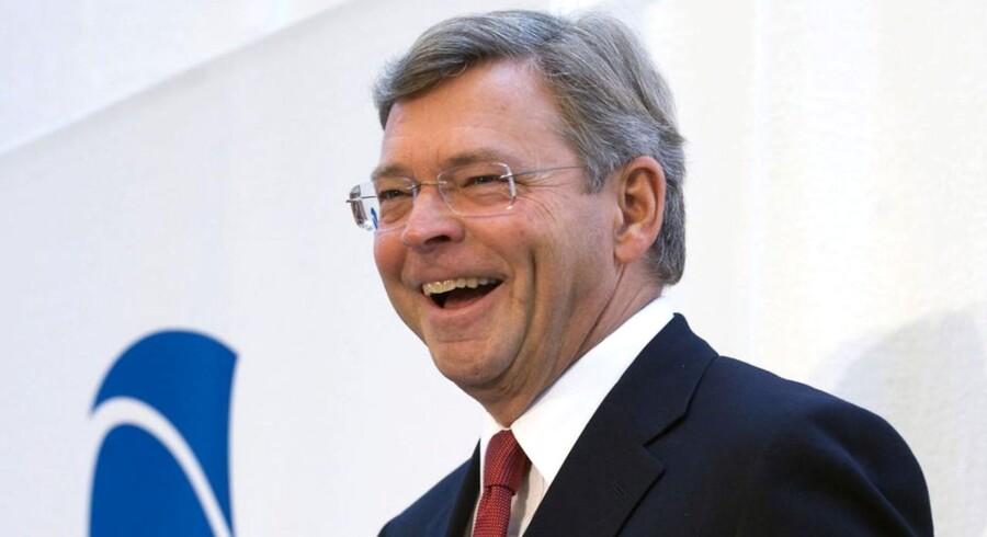 Nordeas koncernchef Christian Clausen kan grine hele vejen fra sin nye luksuslejlighed til banken og hjem igen.