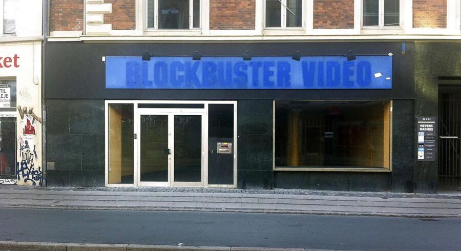 Blockbuster på Nørrebrogade er en af de københavnske butikker, som kæden har drejet nøglen om på for nylig.