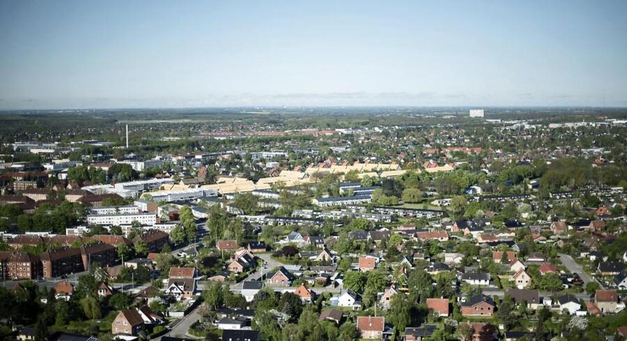 ARKIVFOTO 2015 af boligområde i Herlev.