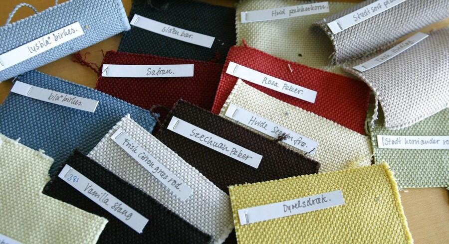 Tekstilvirksomhed Kvadrat ved Ebeltoft.