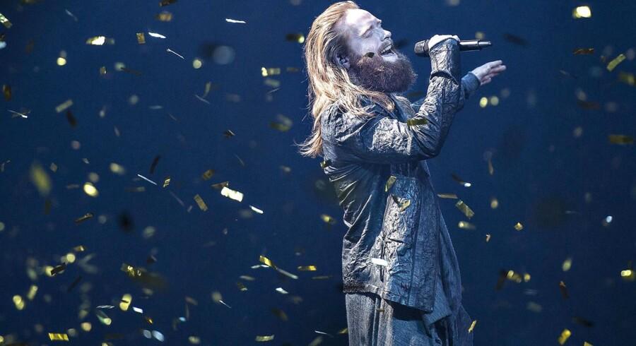 »Higher Ground« med Rasmussen bliver Danmarks repræsentant ved Eurovision i Portugal til maj.
