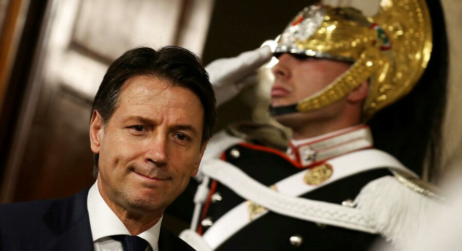 I spidsen for den nye regering skal stå de to partiers hidtidige kandidat som premierminister, Giuseppe Conte.