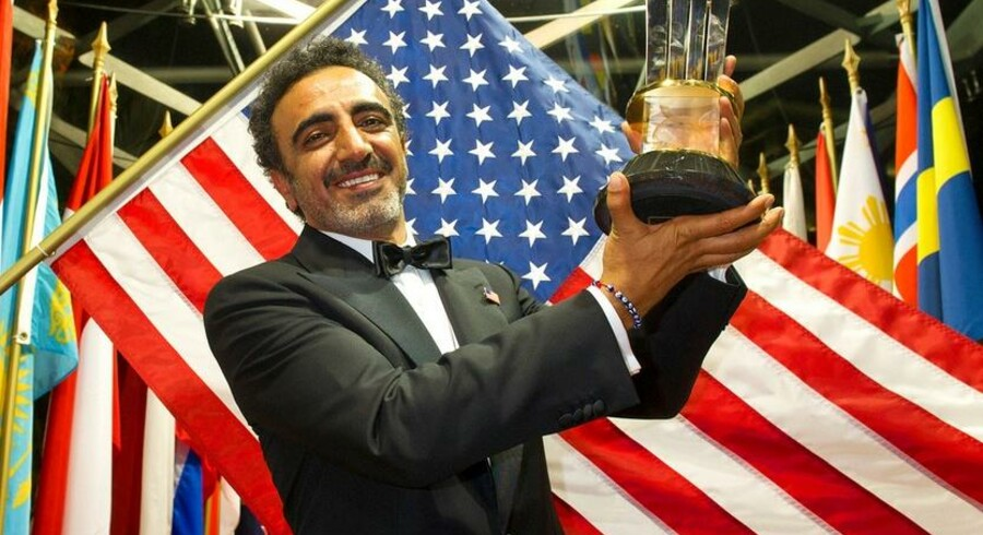 Den tyrkiskfødte amerikaner Hamdi Ulukaya.
