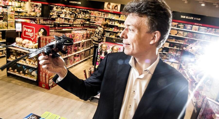 Peter Gjørup, adm direktør i Top-toy og Fætter BR har truffet en vanskelig men rigtig beslutning.