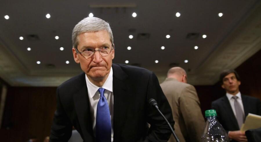 Apple-chefen Timothy Cook blev tirsdag grillet af et senatsudvalg i den amerikanske kongres på grund af mistanken om et gigantisk skattecirkus.