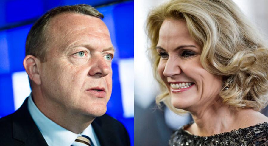 Bilagssagerne belaster Løkke mere end løftebrud belaster Thorning, mener danskerne ifølge ny meningsmåling.