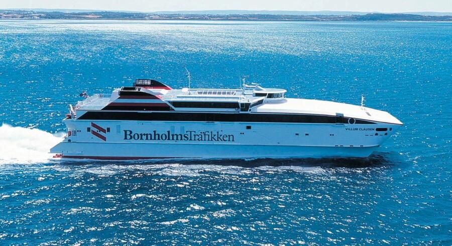 Mols-Linien vil overtage ruterne til Bornholm fra selskabet Færgen.