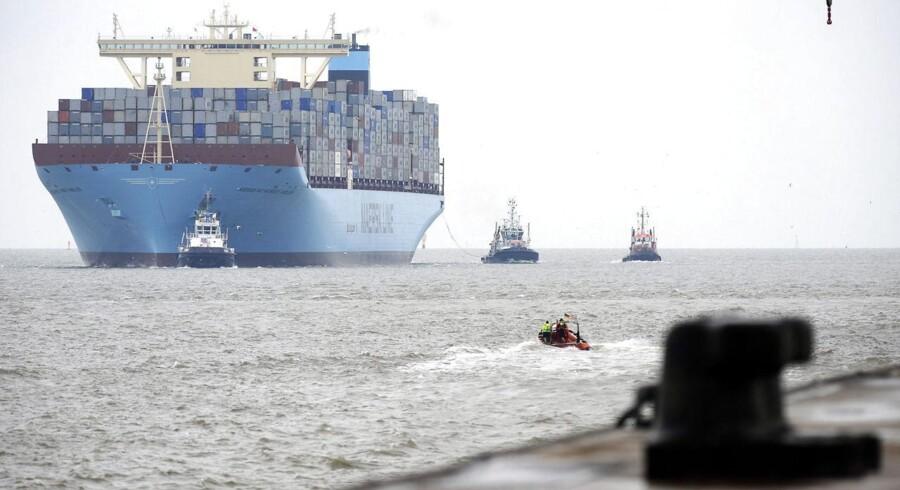 A.P. Møller - Mærsks konkurrent på havnefronten, DP World, leverede fremgang i første halvår i et marked, som betegnes udfordrende.