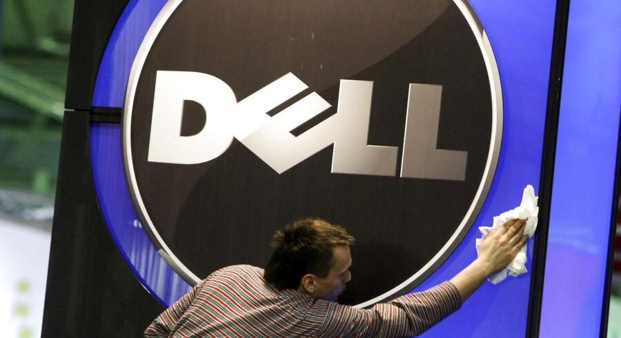 Amerikanske Dells fremtidige ejerskab er helt uvist. Nu melder kapitalfonden Blackstone sig på banen. Arkivfoto: Thomas Peter, Reuters/Scanpix
