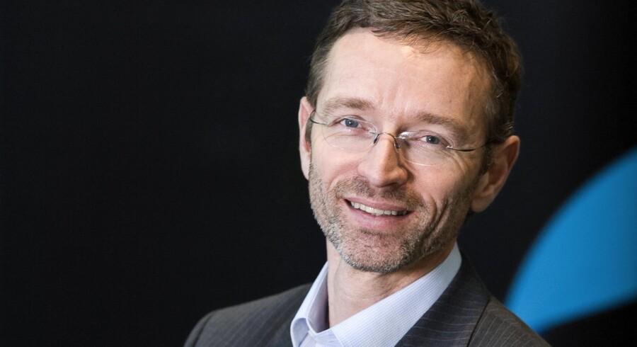 »Der er stadig ting, som vi kan gøre bedre,« siger Jon Erik Haug, Telenors topchef siden maj 2010. Arkivfoto: Telenor