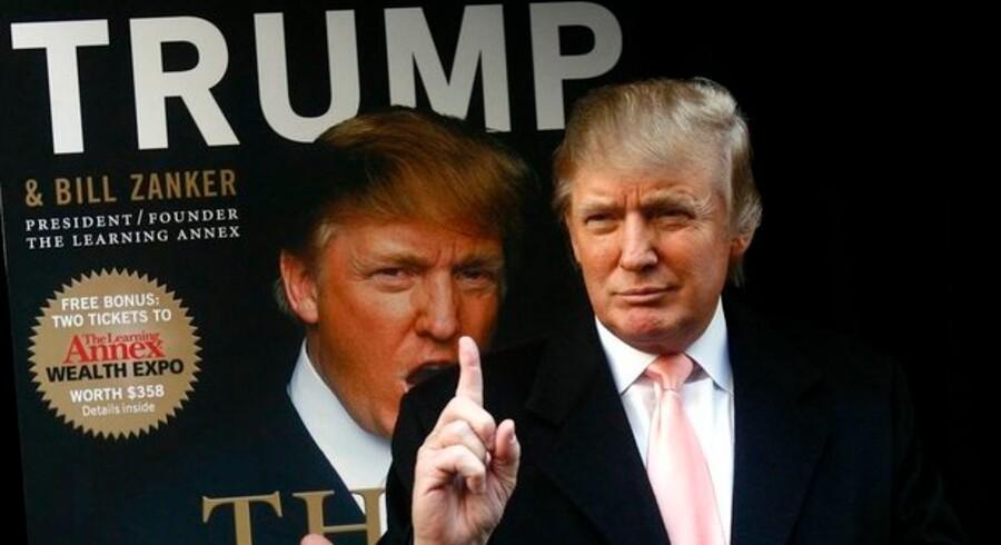 Milliardæren og finansmanden Donald Trump.