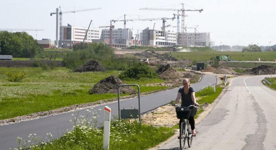 Skejby - med det nye universitetshospital og en række nye virksomheder i Agro Business Park - kan blive et regulært vækstcentrum for Danmark.