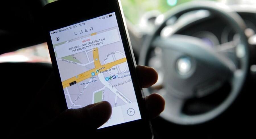 Der var ikke meget medvind til den amerikanske virksomhed Uber, da den onsdag lancerede sin app i København.
