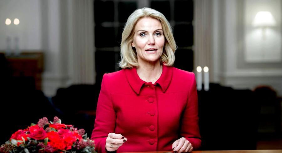 Statsminister Helle Thorning-Schmidt, Nytårstale, 2014/2015.