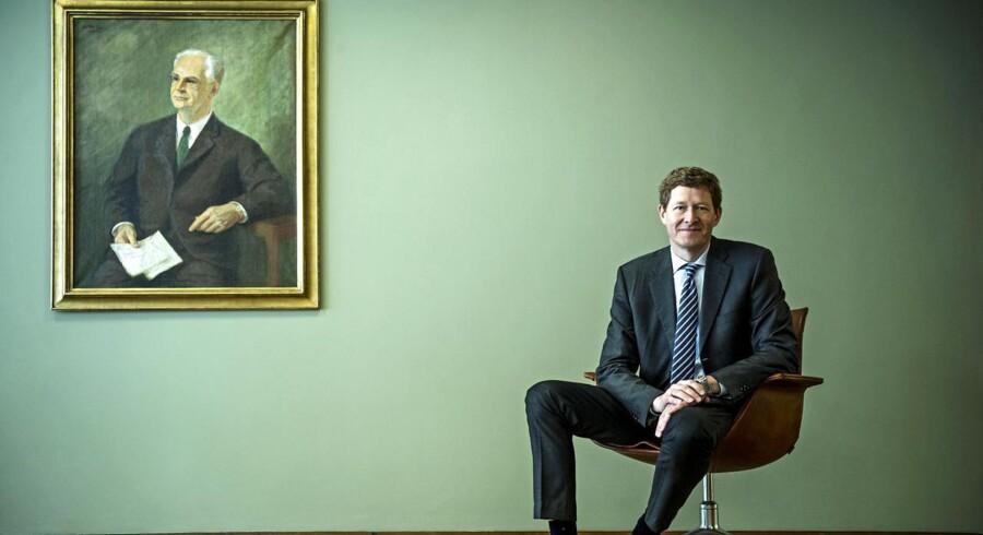Danfoss' topchef Niels B. Christiansen, der efter fire år i med strategisk fokus på produktivitet, er nu i gang med at gennemføre en ambitiøs vækststrategi i det sønderjyske inudstriselskab.