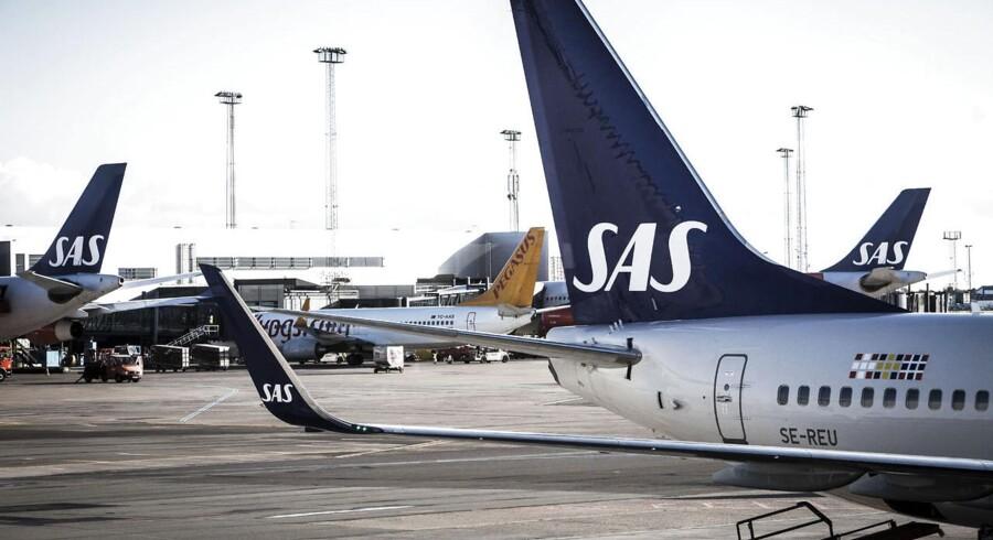 SAS justerede sidste gang brændstoftillægget i april 2012. Siden da er brændstofprisen faldet med 23 procent.