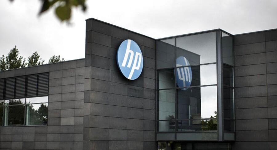 HP's danske hovedsæde i Lillerød.
