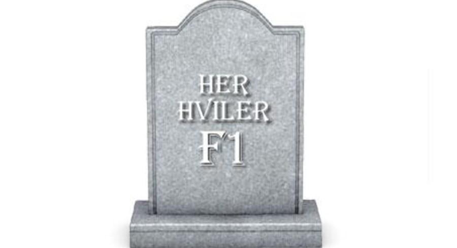 I årevis var F1-lånet danskernes foretrukne, men nu er det endegyldigt på vej i graven. To realkreditinstitutter sløjfer lånet helt, mens de andre ikke længere tør spå om lånetypens fremtid.