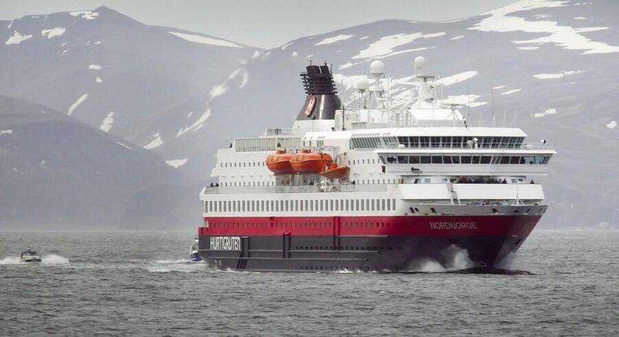Det norske krydstogtrederi Hurtigruten.