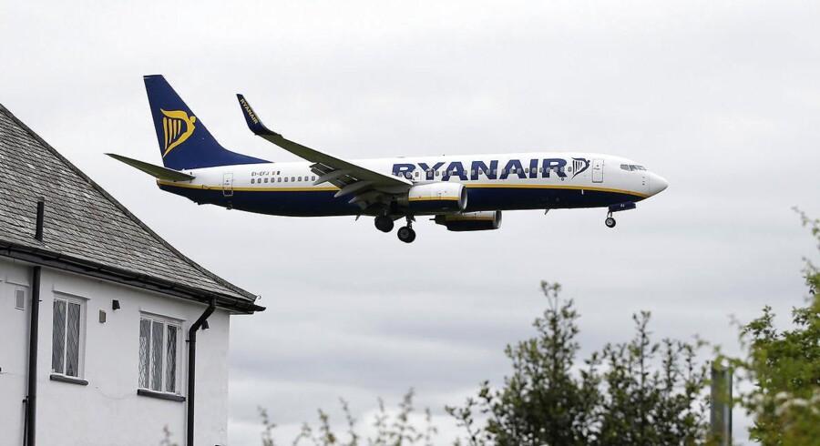 Ryanair tjener masser af penge trods dansk ballade.
