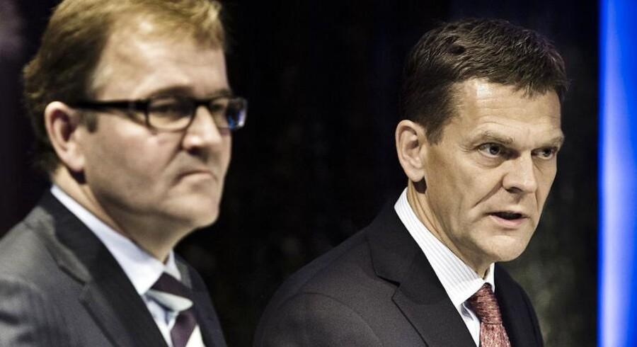 Bestyrelsesformand Ole Andersen var i februar 2012 med til at pege på Eivind Kolding som direktør for Danske Bank - nu mener formanden, at der skal andre kompetencer til.
